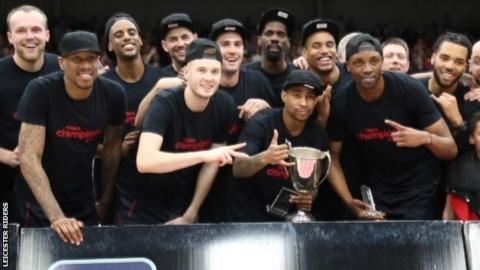 Leicester Riders win BBL Championship