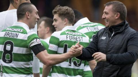 Scott Brown and Brendan Rodgers