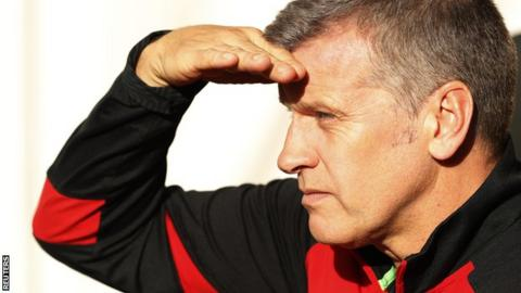 Southampton assistant manager Eric Black