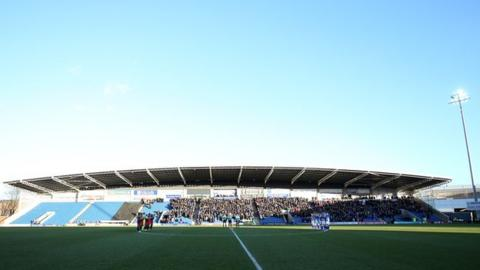 The all-seater Proact Stadium has a capacity of 10,600