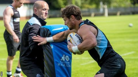 Gregor Townsend and Peter Horne