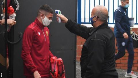 Scottish Premiership Side Receive Positive COVID-19 Tests