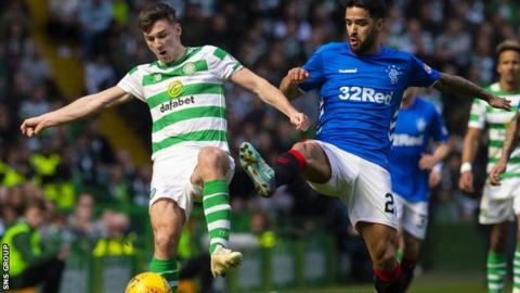 Celtic and Rangers will meet for the last time this season at Ibrox