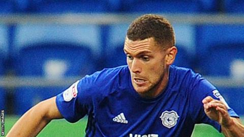 Stuart O'Keefe plays for Cardiff City