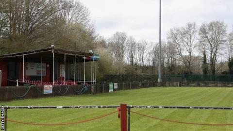 Man united news  football news  football transfer and rumours General view of the Greenfleets Stadium, home of Aylesbury Vale Dynamos