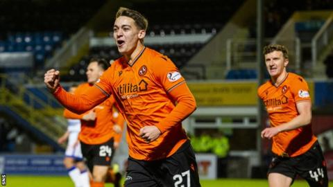 Dundee United scorer Luis Appere