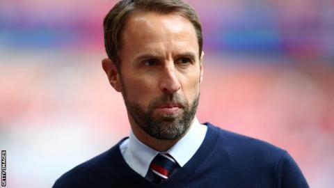 Gareth Southgate managing England