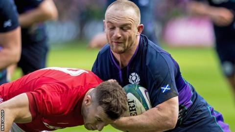 Finn Russell Scotland have cut Nick Grigg from the World Cup training squad