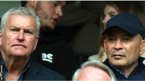 England in 'no rush' to extend Eddie Jones's contract, says RFU chief