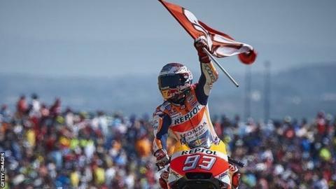 Honda rider Marc Marquez
