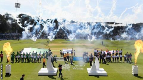 Swalec Stadium hosting the ICC Champions Trophy