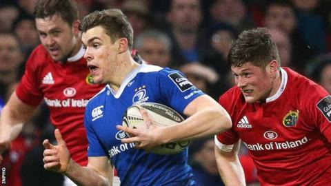Garry Ringrose set up Leinster's first try scored by Isa Nacewa