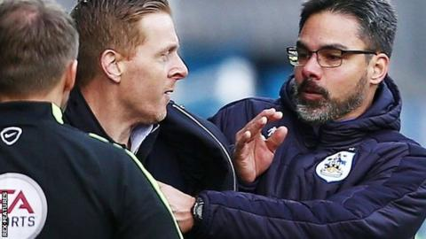 Huddersfield and Leeds