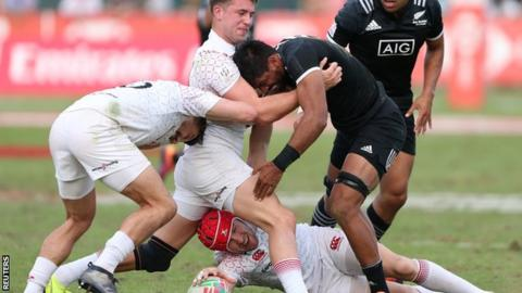 US Rugby Sevens Team Finishes Silver At Dubai Sevens