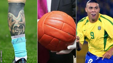 A tattoo, a World Cup football and Ronaldo