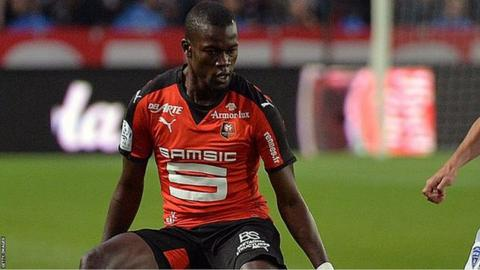Senegal central defender Fallou Diagne