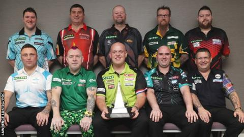 Premier League darts players in 2018
