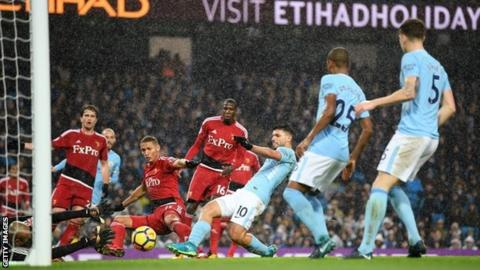 Premier League leaders Man City 15 points clear after victory over Watford