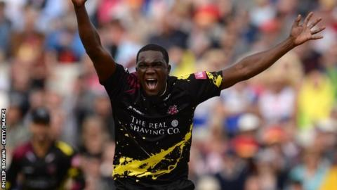 Jerome Taylor took 22 wickets in 11 matches in 2018 to help Somerset reach Finals Day