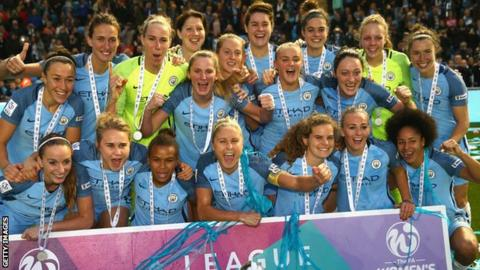 Manchester City win the WSL