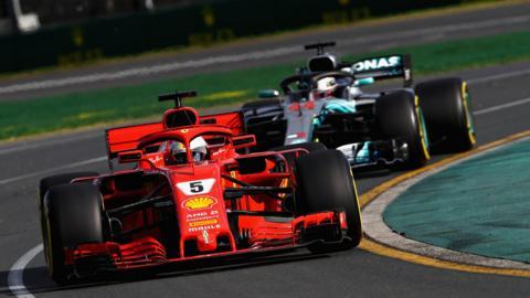 Vettel, Australia Grand Prix