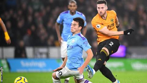 Wolves 3-2 Man City