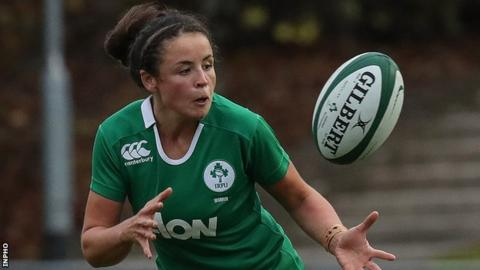 Ireland scrum-half Larissa Muldoon