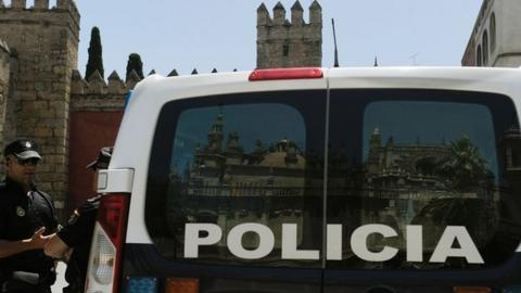 Police in Seville