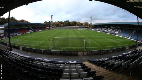 Rochdale's Spotland Stadium