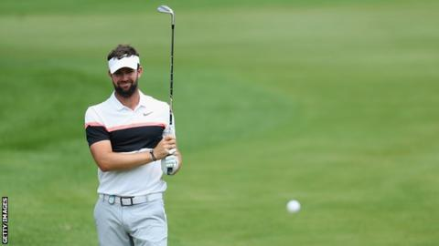 Scott Jamieson had shared the lead after rounds two and three at Pretoria Country Club