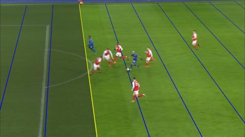 Iheanacho scores first VAR goal in English football