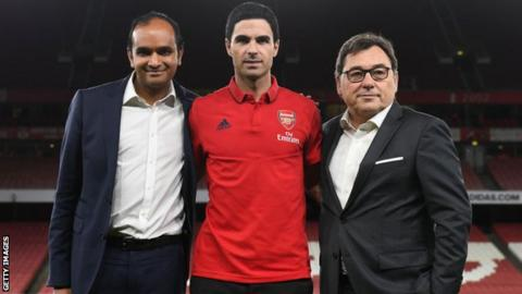 Sanllehi departs as Arteta control grows at Arsenal