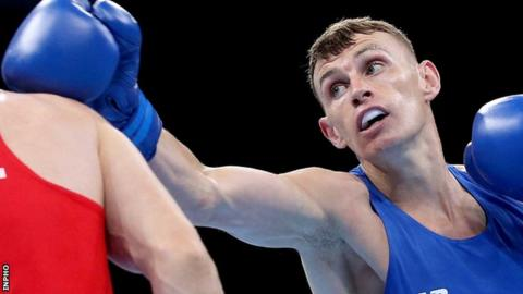 Sean McComb was beaten in Doha on Friday