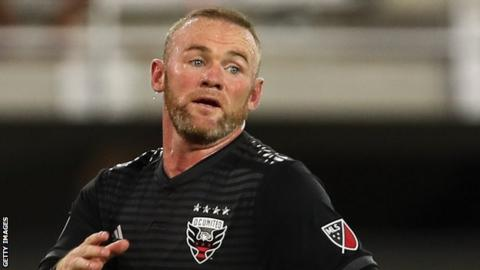 Rooney Joined Dc United After Leaving Everton In The Summer