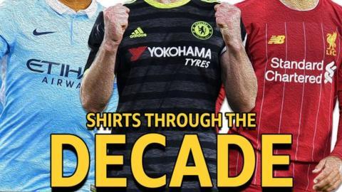 Shirts through the decade