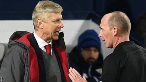 Referee Mike Dean admits fault but where is Arsenal's apology?