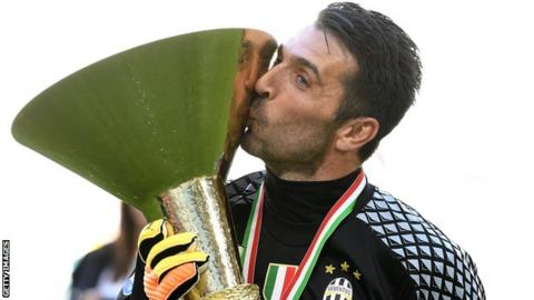 Buffon to play last game for Juve on Saturday