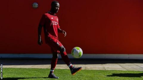 promo code 81453 f82d5 Liverpool: Naby Keita to wear Steven Gerrard's number eight ...