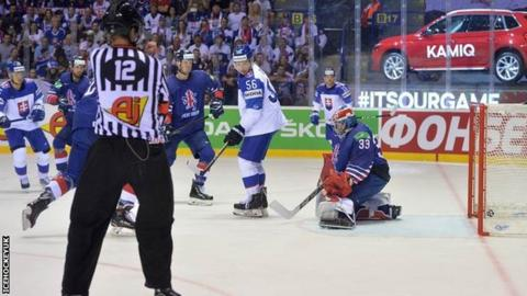 Ice Hockey World Championship Great Britain Suffer Sixth Defeat