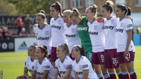 West Ham United Women team photo