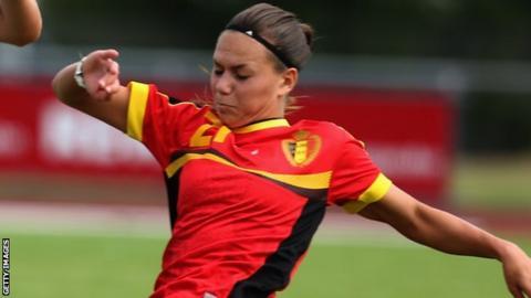 Jassina Blom of Belgium