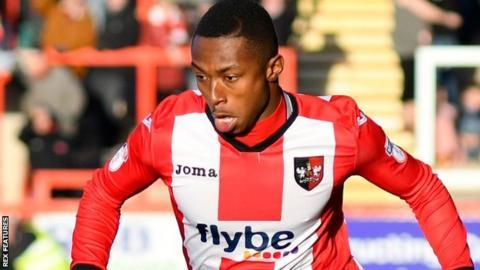 Kyle Edwards: West Brom forward rejoins Exeter on loan ...