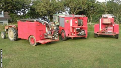 Sark's fire engines