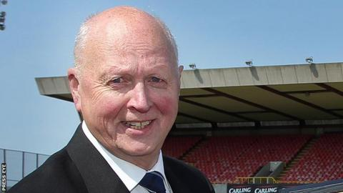 Jim Kerr became Linfield chairman in 2007