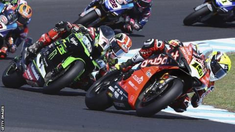 Alvaro Bautista finished ahead of Jonathan Rea for the fourth time this season