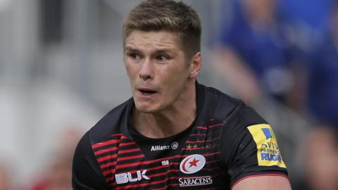 Owen Farrell of Saracens