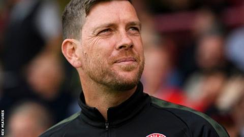 Former Bristol Rovers boss Darrell Clarke has won five of his 18 games in charge at Walsall