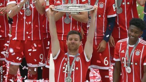 aedf1663422 Xabi Alonso  Ex-Liverpool midfielder leads Real Madrid U13s to ...