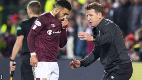 Jake Mulraney did not feature in the plans of new Hearts manager Daniel Stendel