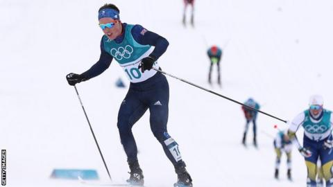 Briton Andrew Musgrave achieves country's best Winter Olympics result in cross-country skiing